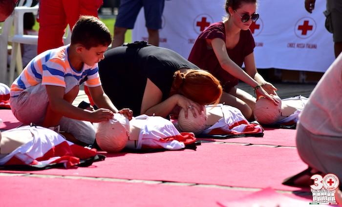 Insieme alla Croce Rossa di Luino per la salute dei cittadini, coinvolti anche i sindaci