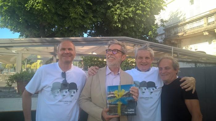 """Luino, Lupo Alberto e Silver protagonisti sul lago Maggiore. Prosegue il """"Corto Week End"""""""