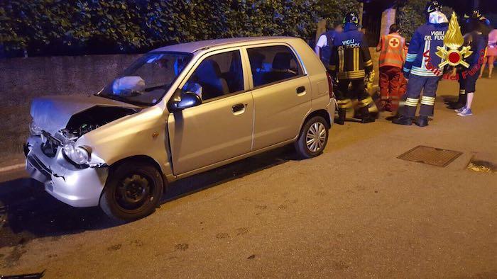 Ieri sera incidente a Mesenzana: cinque i feriti, tra cui due ragazze di 19 anni ed una 16enne