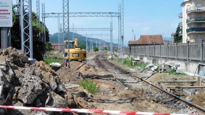AlpTransit: iniziano il 26 giugno i lavori sul sottopassaggio di via Cairoli, vicino all'ex Visnova