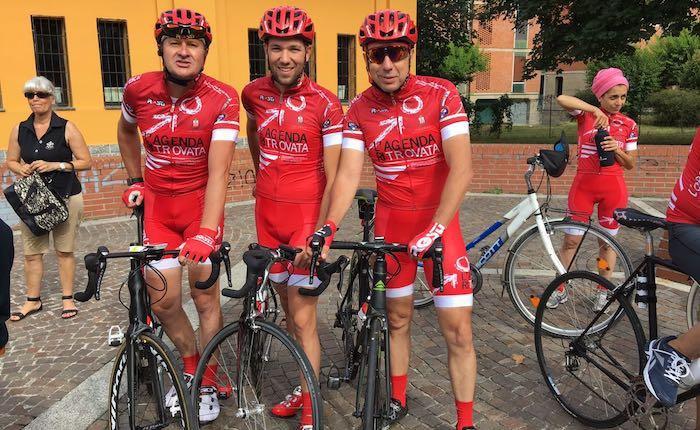 Fino a Palermo in bici per l'Agenda Rossa di Paolo Borsellino. Tra loro anche Matteo, ragazzo di Cugliate