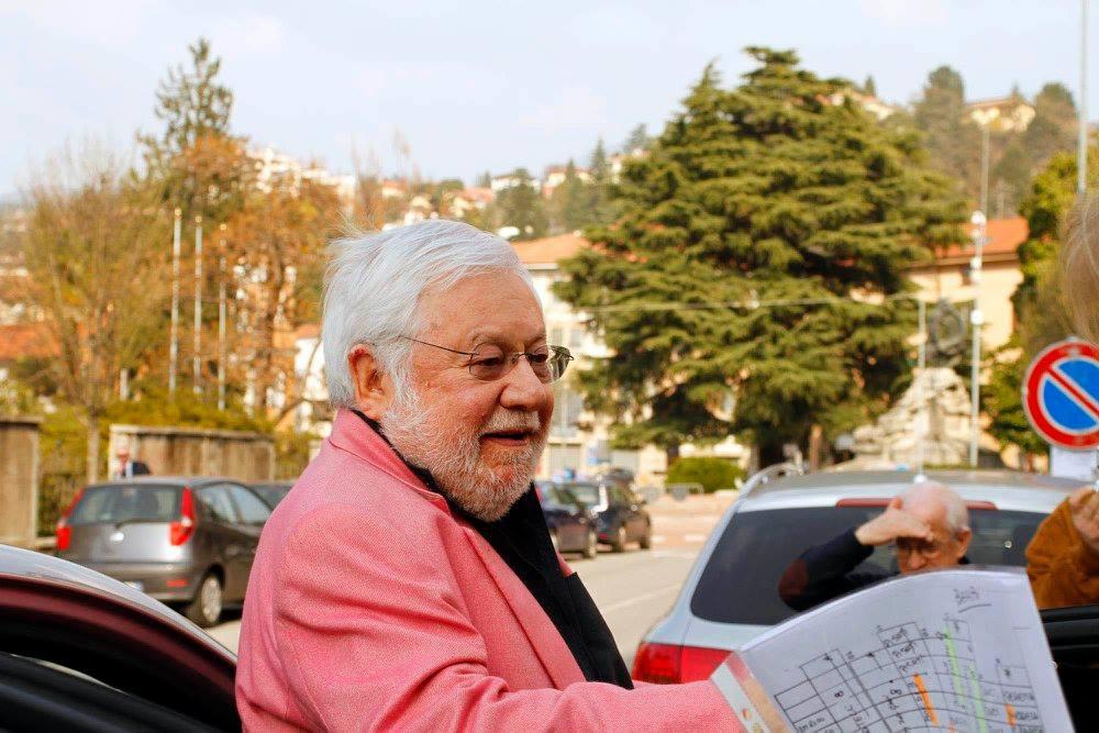 Quando nel 2012 Paolo Villaggio venne a Luino per ritirare il Premio Chiara alla Carriera