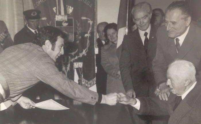 Il sentito omaggio a Giorgio Garagnani in alcuni scatti all'inizio della sua amministrazione
