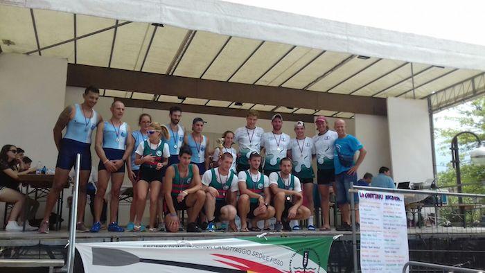 Canottieri Germignaga, un tris d'oro.Tretitoli dai Campionati Regionali FICSF