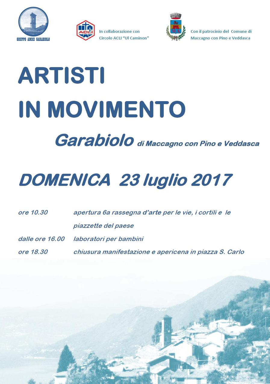 """Domenica il borgo di Garabiolo ospita la sesta edizione di """"Artisti in movimento"""""""