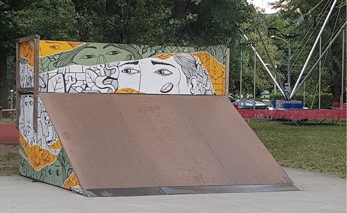 Lo skatepark di Maccagno si rifà il look. Passera: