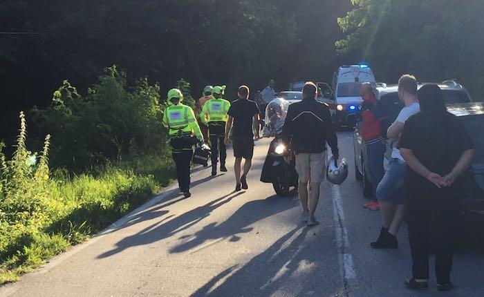Incidente in bici, ragazzino ferito a Grantola. Interviene l'elisoccorso