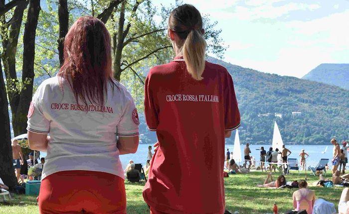 L'estate della Croce Rossa Luino al servizio dei cittadini e dei turisti sul territorio