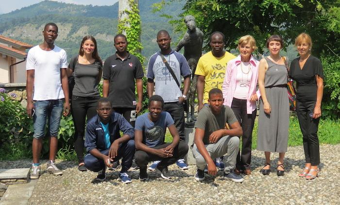 I ragazzi migranti alla scoperta del territorio, le visite al Museo Bodini