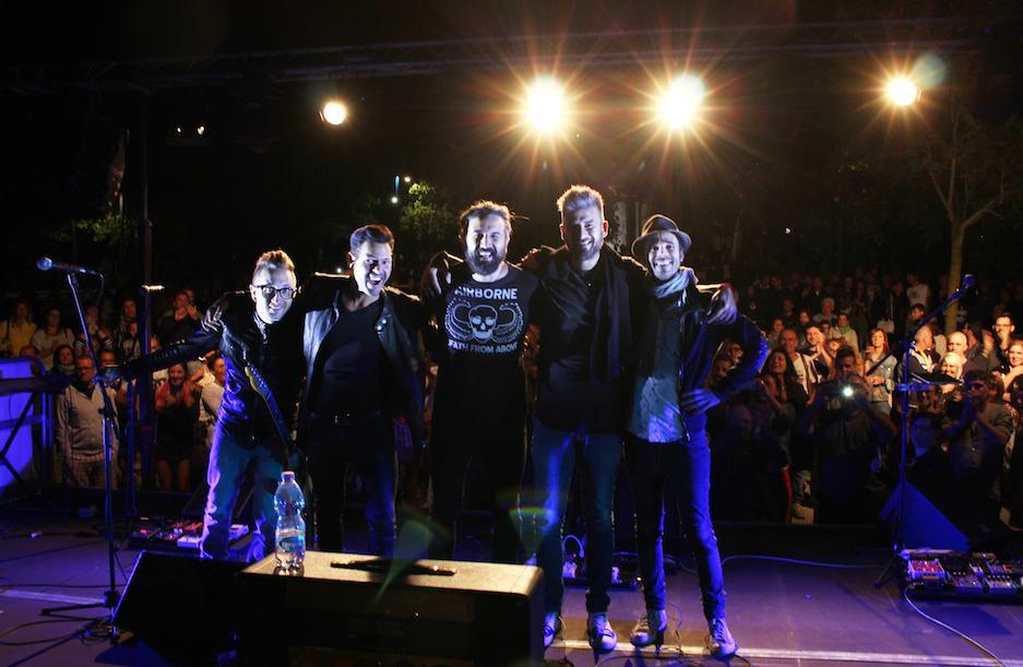 Omar Pedrini e il suo rock conquistano il Parco a Lago di Luino