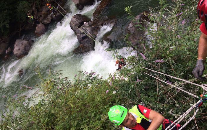 Sarebbe svizzero l'uomo scomparso lungo il Tresa