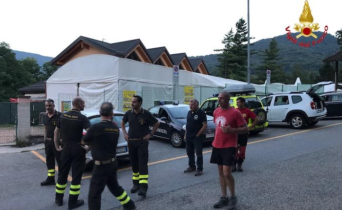 Si perdono nei boschi di Cunardo, tre dodicenni salvati dai Vigili del Fuoco e dal Soccorso Alpino