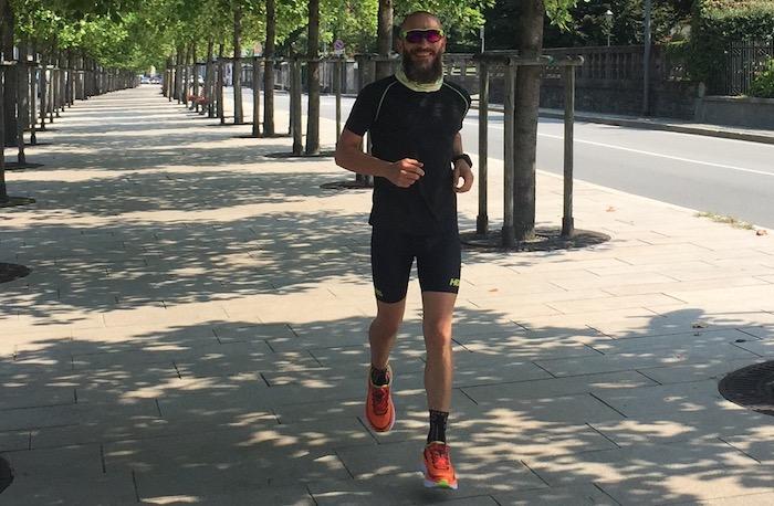 Nuova sfida per Filippo Menotti: corsa e bici per 200km insieme a coach Mereghetti