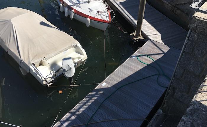 Scarsa manutenzione al Porto Nuovo di Luino, rotto un pontile. Sale la rabbia dei diportisti
