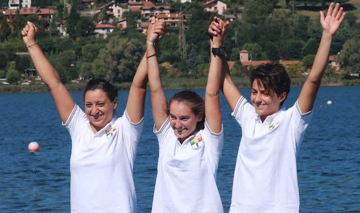 Meravigliosa Canottieri Germignaga: a Corgeno due volte Campioni d'Italia