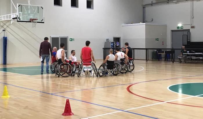 La Cimberio Handicap Sport Varese si prepara in vista dell'inizio di campionato