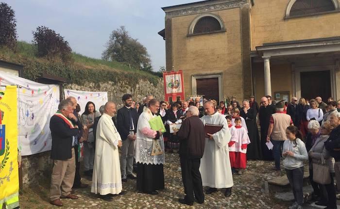 La comunità di Cunardo dà il benvenuto a don Francesco