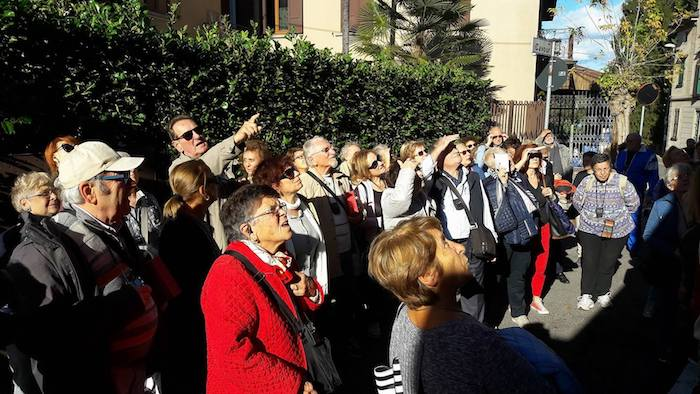 L'Università del Tempo Libero di Gorgonzola in visita a