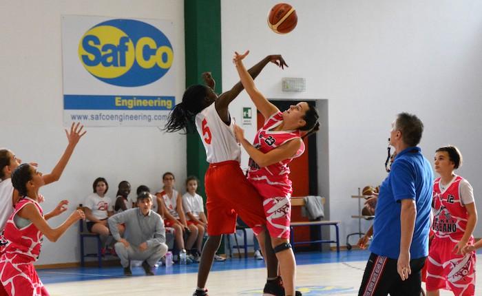 Basket Verbano, ottime vittorie per le giovani Pink luinesi nelle prime uscite stagionali