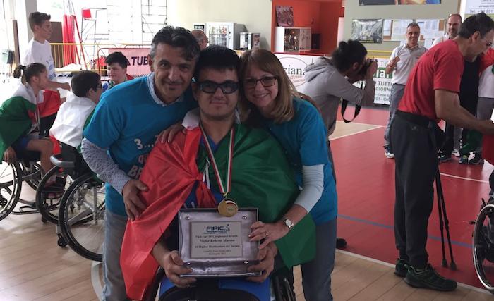 Basket in carrozzina: il luinese Mattia Castorino torna alla HSVarese da campione d'Italia