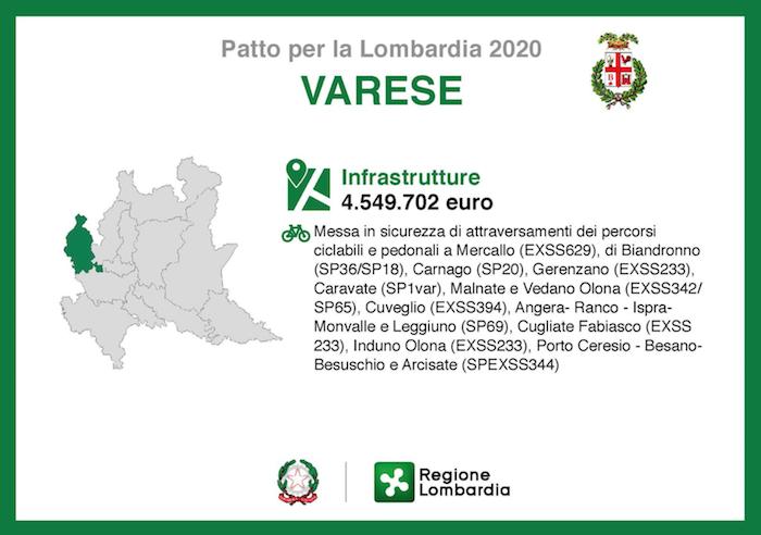 Germignaga, pronti 800mila euro per la rotatoria: snodo importante per tutto il territorio