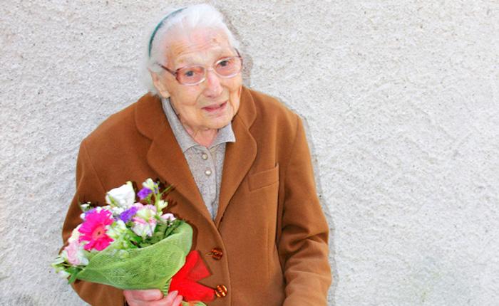 Colmegna è pronta per festeggiare i cent'anni della signora Teresa