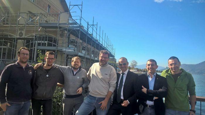 L'onorevole Giorgetti e il consigliere Monti a Luino per il Sì al Referendum