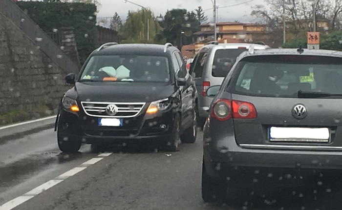 Incidente tra due auto a Germignaga