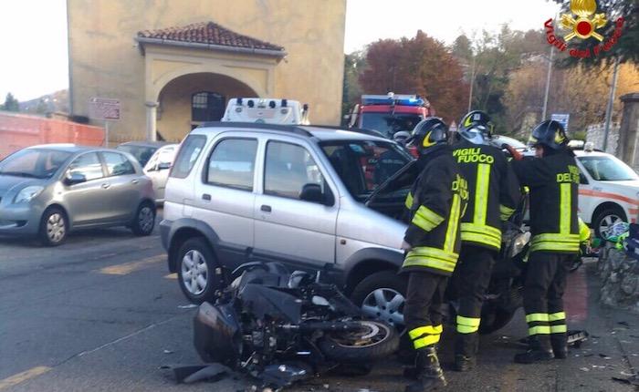 Incidente a Porto Valtravaglia, ferito un 37enne. Interviene l'elisoccorso