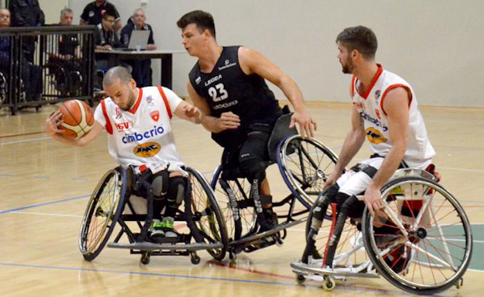 Vittoria e sofferenza per la Cimberio Handicap Sport Varese a Bergamo, due punti fondamentali