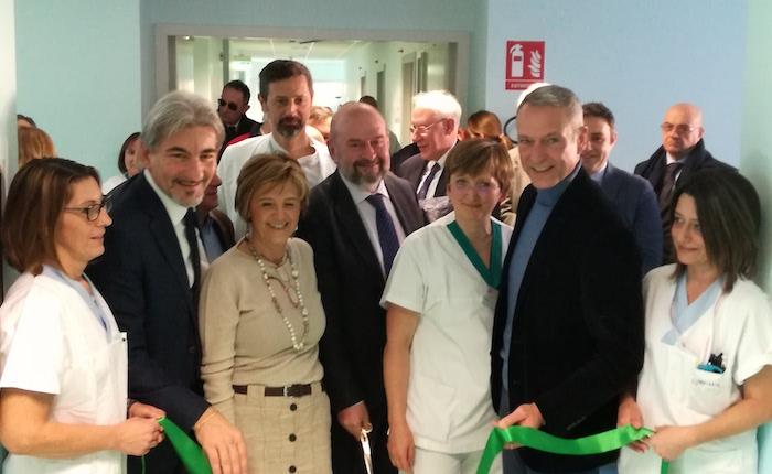 Inaugurato oggi il nuovo Day Hospital oncologico e internistico all'Ospedale di Cittiglio