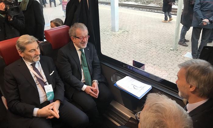 Lombardia, Cattaneo a inaugurazione linea ferroviaria Arcisate-Stabio