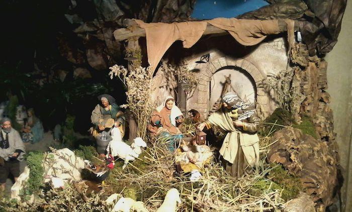 Valganna, inaugurato oggi il presepe di Tiziano e Gianni alla Badia di San Gemolo