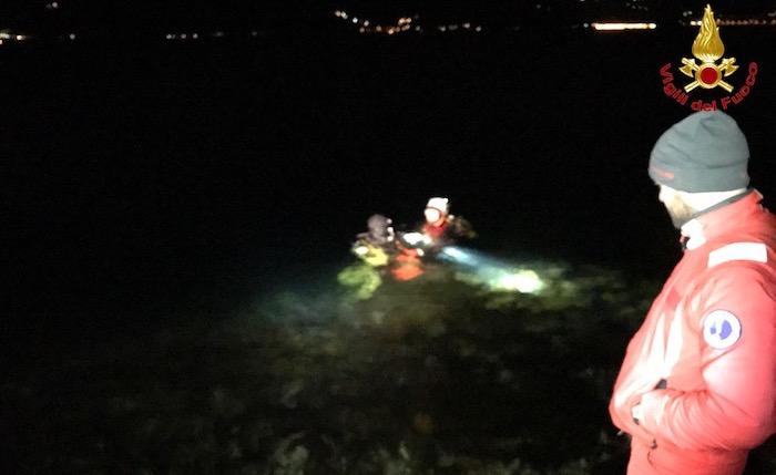 Luino: recuperato cadavere nel lago Maggiore