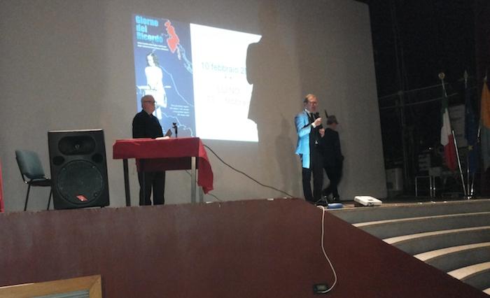 """Luino, l'esule Morresi nel Giorno del Ricordo: """"Due volte italiano, per nascita e scelta"""""""