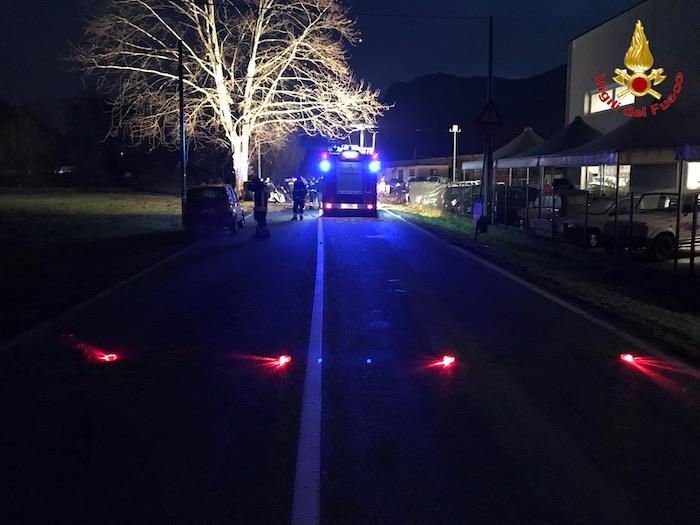 Grave incidente sulla strada del Cucco. Circolazione bloccata, interviene l'elisoccorso