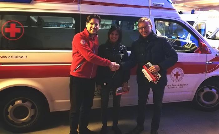 Defibrillatori sì, defibrillatori no. Pellicini e Ronchi incontrano la Croce Rossa di Luino