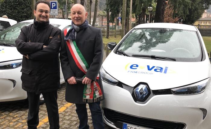 Maccagno con Pino e Veddasca, la prima auto elettrica 2.0 da oggi a disposizione dei cittadini