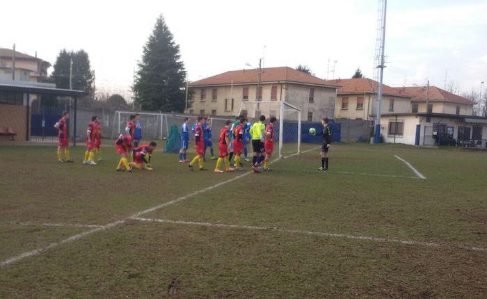 Un ottimo Luino-Maccagno espugna Busto Arsizio, Pollio regala vittoria e tre punti