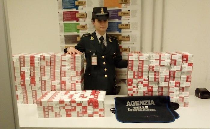 In tre mesi sequestrata quasi una tonnellata di tabacchi provenienti dall'estero
