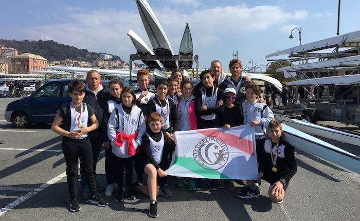 Canottieri Germignaga, sei medaglie dal Meeting Nazionale Giovanile