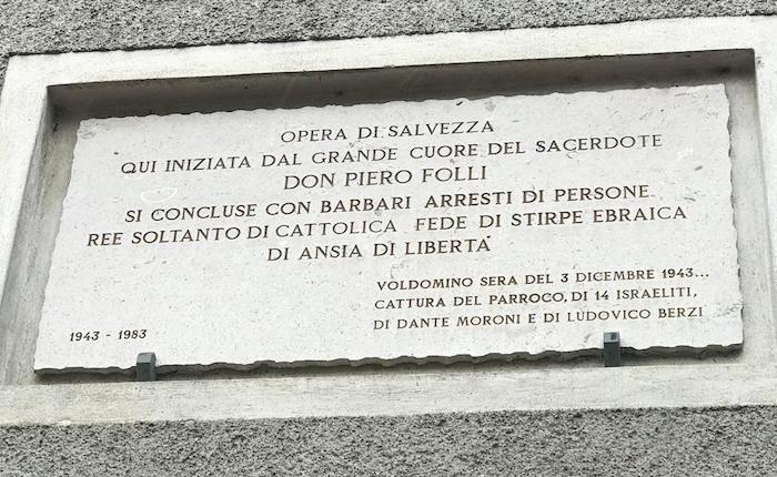A settant'anni dalla scomparsa, oggi Luino ha omaggiato Don Piero Folli