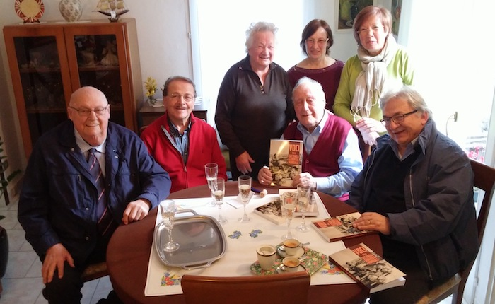 Oggi un anno dall'addio a Remo Passera, l'omaggio degli amici dell'ANPI Luino