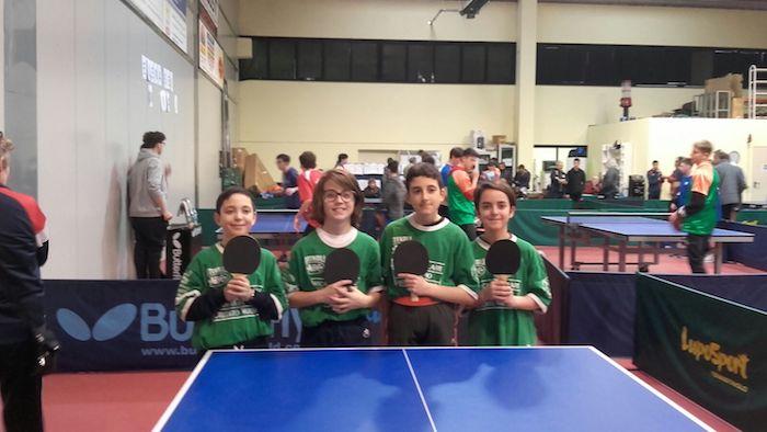 Tennis-Tavolo, i ragazzi delle scuole medie di Luino protagonisti a Como
