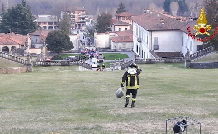 13enne cade in una zona impervia a Villa Bozzolo, intervengono elisoccorso e vigili del fuoco