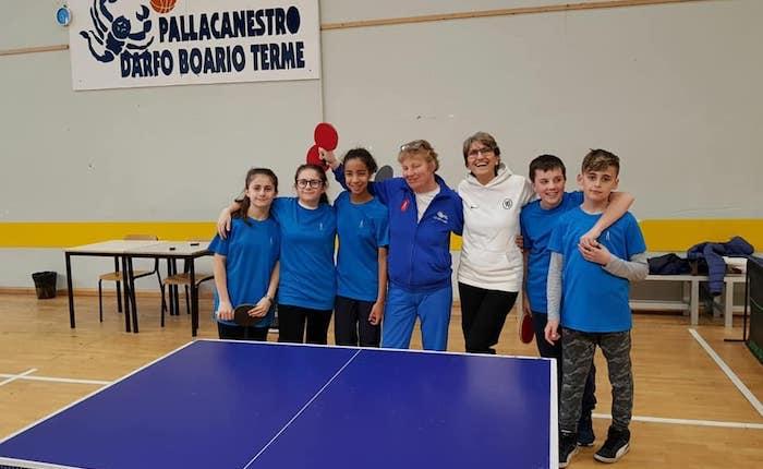 Tennis Tavolo: la Scuola Media di Luino scrive la storia, ma non basta per la qualificazione