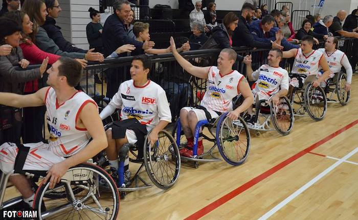 Basket in carrozzina, la Cimberio Handicap Sport Varese a Sheffield per l'Eurolega 2