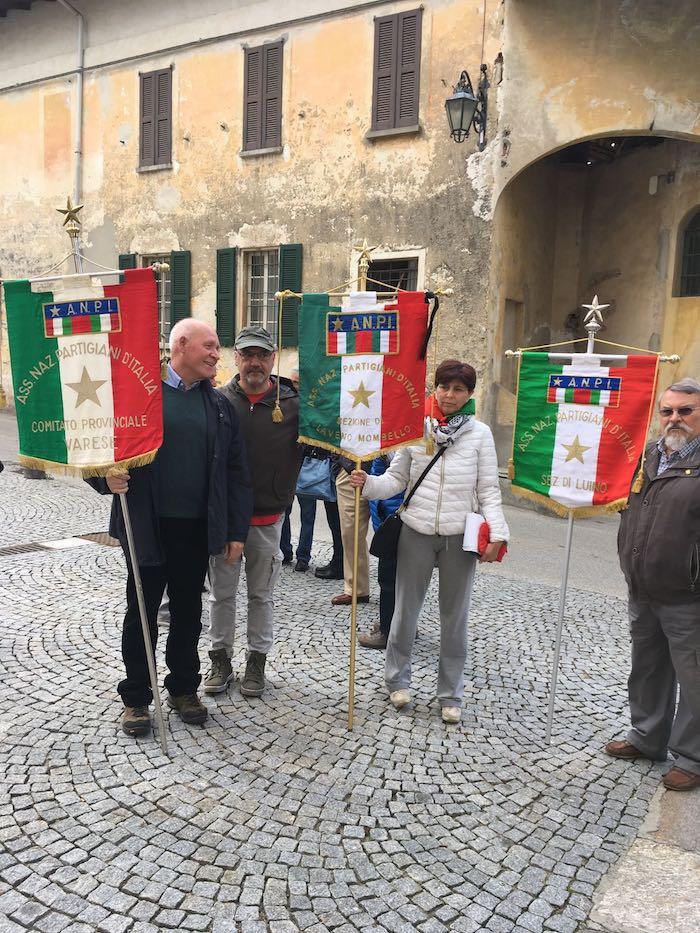 Porto Valtravaglia, grande commozione per l'addio partigiano