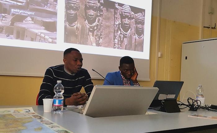 Quattro rifugiati salgono in cattedra raccontando l'Africa e le loro esperienze