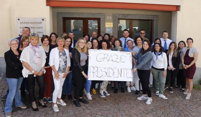 Ascom Luino: dopo 36 anni Aurelio Personeni lascia il timone, è Franco Vitella il nuovo presidente